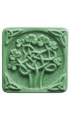 Celtic Clover Soap Mold (Milky Way)