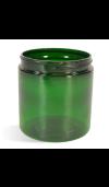 Green, Basic Plastic Jar - 8oz (70/400)