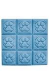 Paw Prints Soap Tray Mold (Milky Way)
