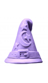 Wizard Hat Soap Mold (Milky Way)