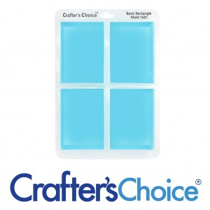 Crafter's Choice Rectangle Basic Silicone Mold 1601