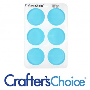 Crafter's Choice Round Basic Silicone Mold 1602