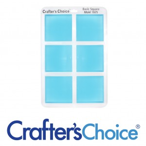 Crafters Choice™ Square Glossy Silicone Tray Mold 1605