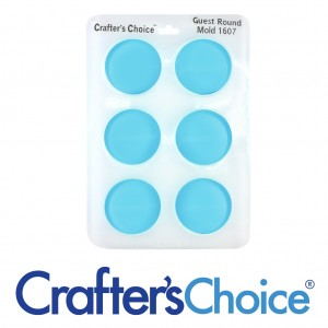 Crafter's Choice Round Guest Silicone Mold 1607