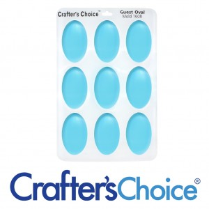 Crafter's Choice Oval Guest Silicone Mold 1608