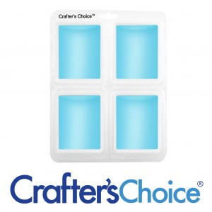 Crafter's Choice Euro Round Silicone Soap Mold 1614