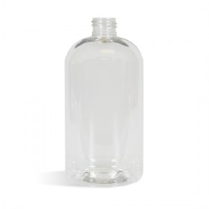 Boston Clear Bottle, 16 oz (473 mL) - 24/410
