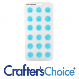 "Crafter's Choice Round Ball 1 1/4"" Silicone Soap Mold 1802"