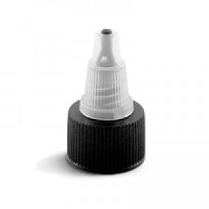 20/410 Cap, Yorker Twist Open Top, Natural & Black