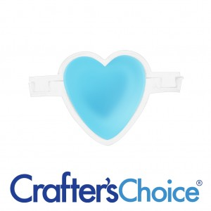 "Crafters Choice™ Heart 2"" Column Silicone Soap Mold 2001"