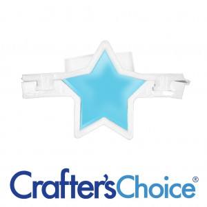 "Crafters Choice™ Star 1.5"" Column Silicone Soap Mold 2005"