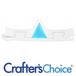 Crafters Choice™ Triangle Mini Column Silicone Soap Mold 2021