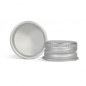 24/410 Aluminum Cap with Liner
