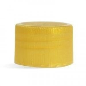 24/410 Gold Ribbed Cap