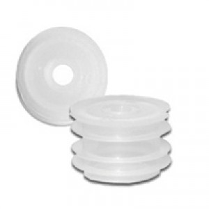 24/410 Orifice Reducer, Natural Plastic