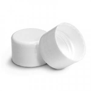 24/410 Cap, White Smooth Basic