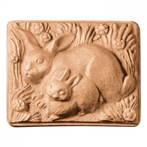 2 Rabbits Soap Mold (Milky Way)