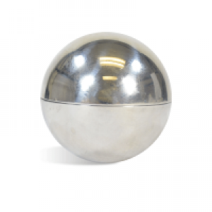 "Bath Bomb Mold - 2.5"" Metal"