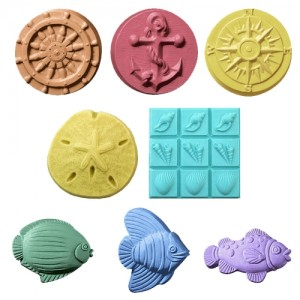 Beach Mold Set - Milky Way