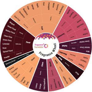Fragrance Wheel - Blending Card #2