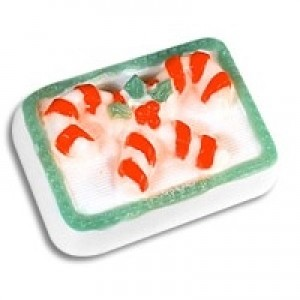 Candy Canes Soap Mold (Milky Way)