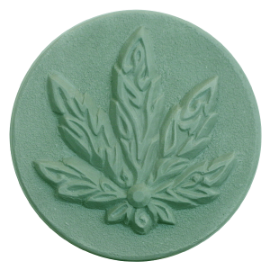 Milky Way™ Cannabis Leaf Soap Mold