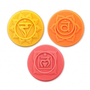 Chakras 2 Soap Mold (Milky Way)