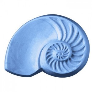 Chambered Nautilus Soap Mold (Milky Way)