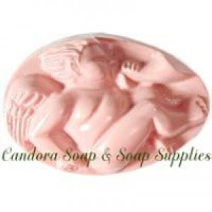 Cherub with Horn Soap Mold (Milky Way)