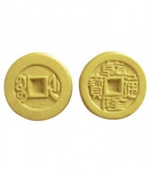 Chinese Coins Guest Soap Mold (Milky Way)