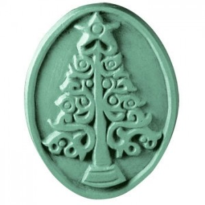 Xmas Tree Soap Mold (Milky Way)