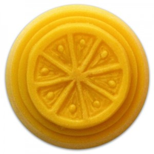 Citrus Small Round Guest Soap Mold