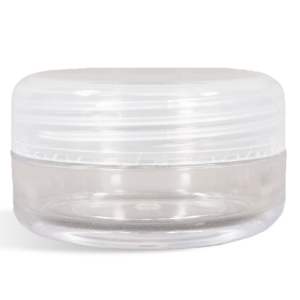 Clear Jar, 15 Gram With Clear Top