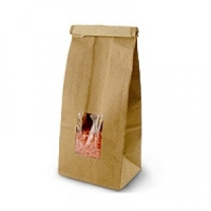 Kraft Window Bag (Medium)