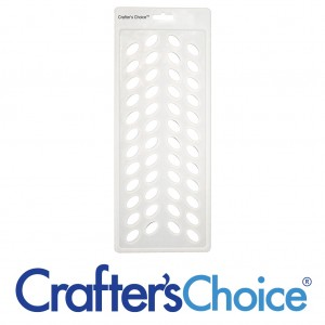 Crafter's Choice Lip Tube Filling Tray, Oval - 3002