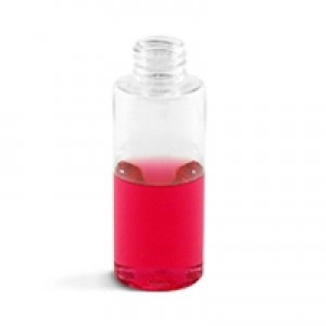 Cylinder, Clear Plastic Bottle, 2oz - 20/410