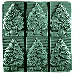 Milky Way™ Fir Tree Soap Mold Tray