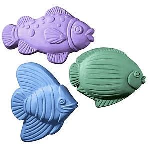 Fish Soap Mold (Milky Way)