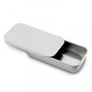Lip Slide Tin Set - Silver
