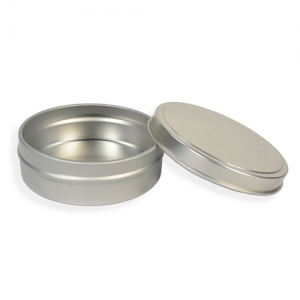 Flat Tin Set - 2 oz