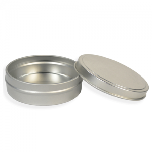 Flat Tin Set - 8 oz