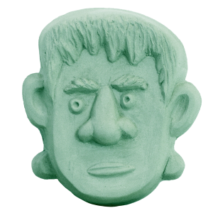 Frankenstein Face Soap Mold (Milky Way)