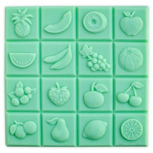 Fruit Tray, Guest Soap Mold (Milky Way)