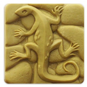 Gecko Soap Mold (Milky Way)