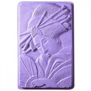 Geisha Soap Mold (Milky Way)