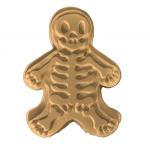 Gingerbread Skeleton Soap Mold (Milky Way)