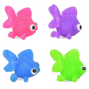 Gold Fish Embeds, Squishy (Rubber)