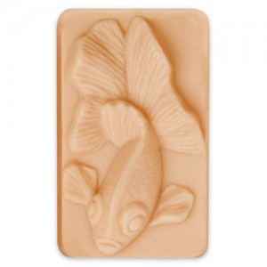 Goldfish Guest Soap Mold (Milky Way)