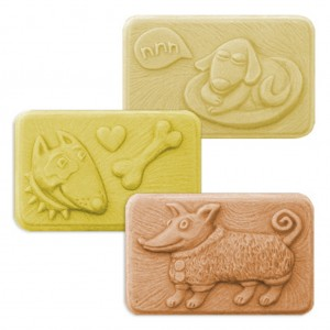 Good Dogs Soap Mold (Milky Way)