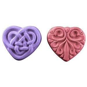 Guest Hearts Soap Mold (Milky Way)